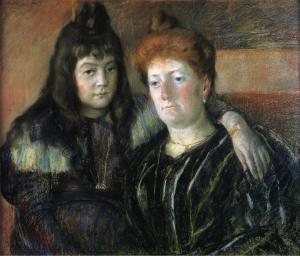 Madame_Meerson_and_Her_Daughter_1899_Mary_Cassatt