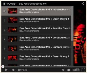 number three on the playlist screen capture