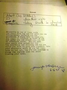 poem for 27th birthday
