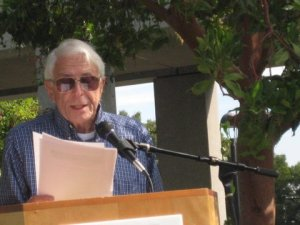 Poetry Reading, Cupertino Plaza, October 15, 2011 Jack Hasling