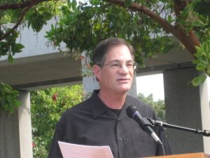Poetry Reading, Cupertino Plaza, October 15, 2011 Karl Kadie