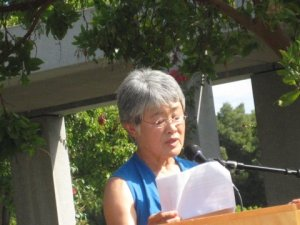 Poetry Reading, Cupertino Plaza, October 15, 2011 Ann Muto