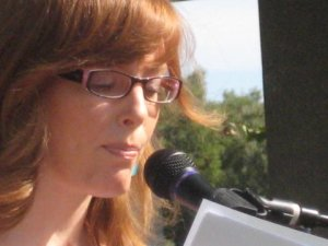 Poetry Reading, Cupertino Plaza, October 15, 2011 Laura Oliver